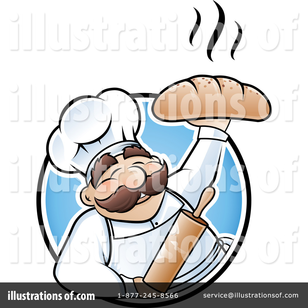 Illustration by ta images. Baker clipart male