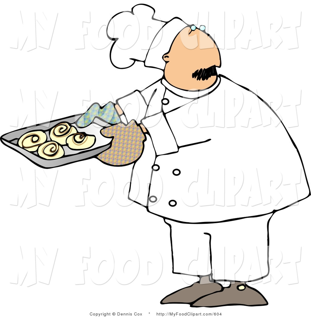 Royalty free man stock. Baker clipart male