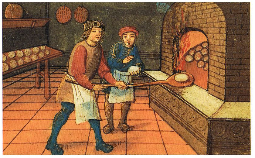 Baker clipart medieval. The laws of bread