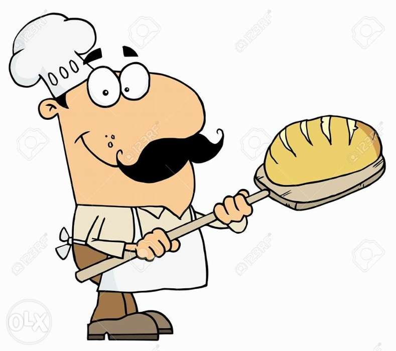 Looking for master sale. Baker clipart panadero