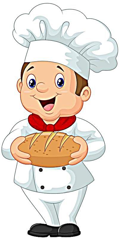 Baker clipart panadero. Pinterest clip art decoupage