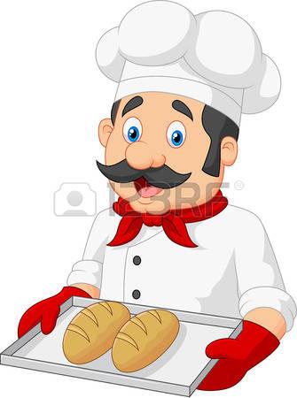 Station . Baker clipart panadero