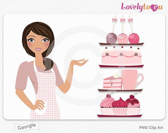 Baker clipart pastry. Bakery clip art free