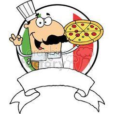 Clip art panda free. Baker clipart pizza