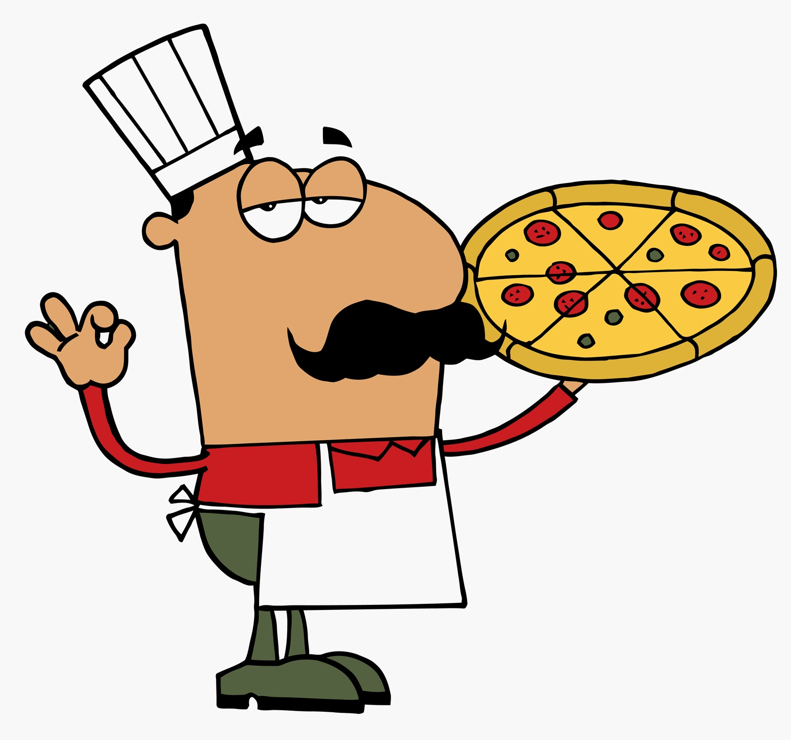 Baker clipart pizza. Party clip art panda