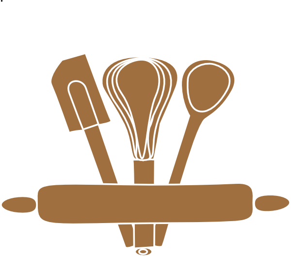 Rolling pin free clip. Baking clipart baking equipment