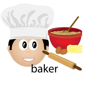 Free image acclaim job. Baker clipart thing