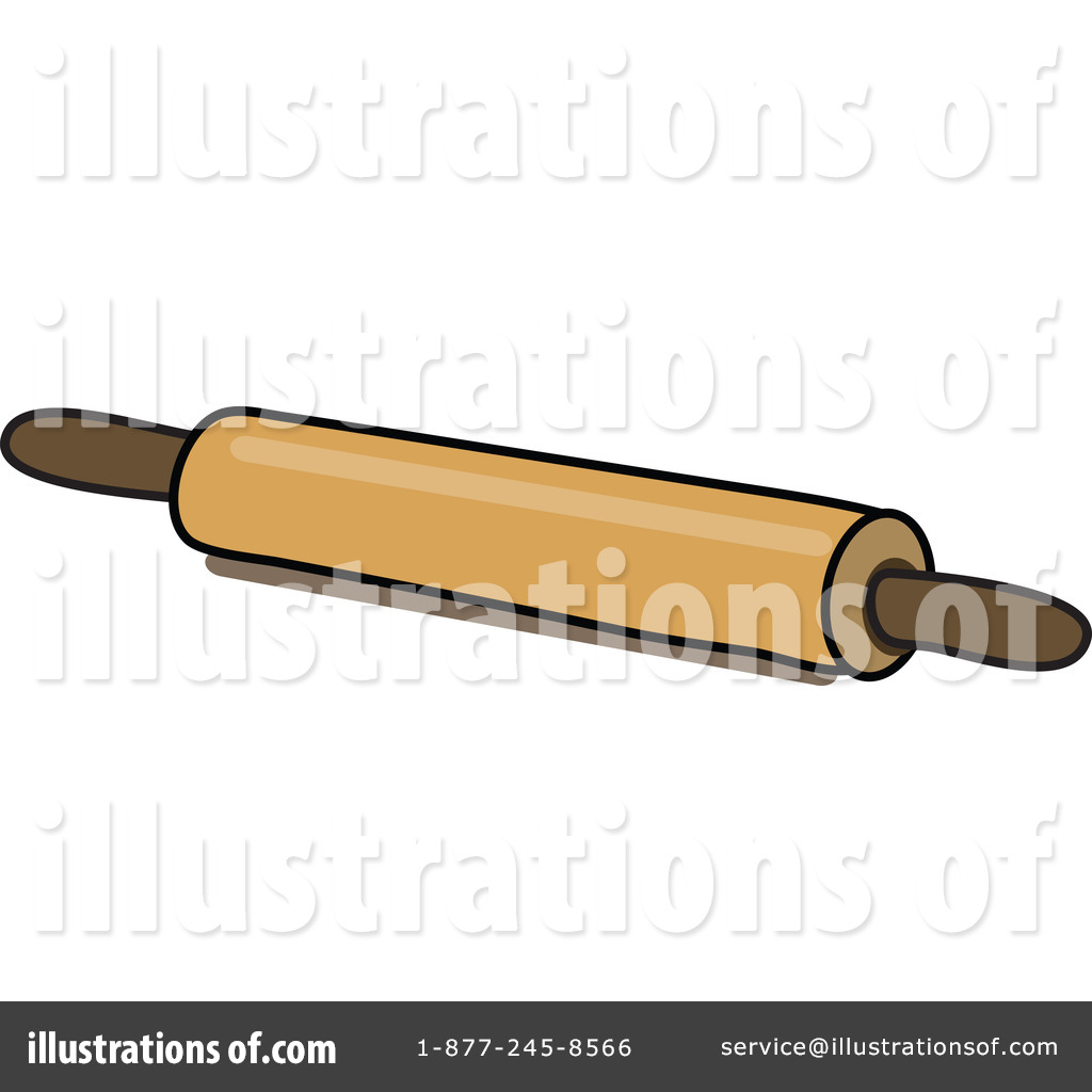 Rolling pins illustration by. Baker clipart thing