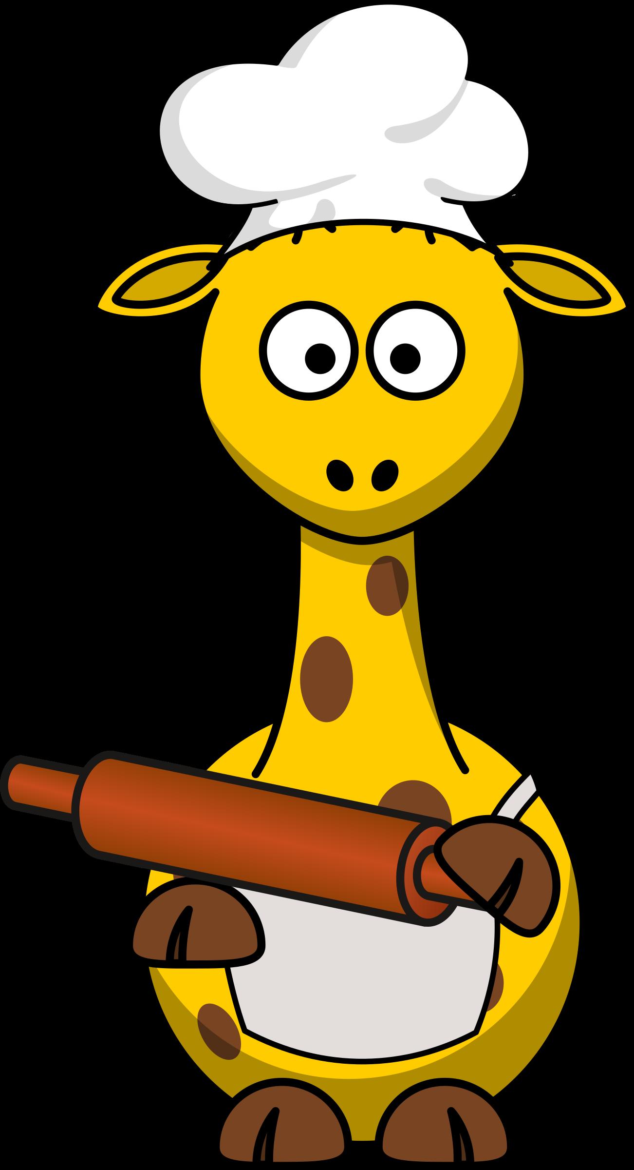Giraffe big image png. Baker clipart transparent