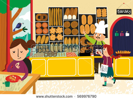 Station . Bakery clipart