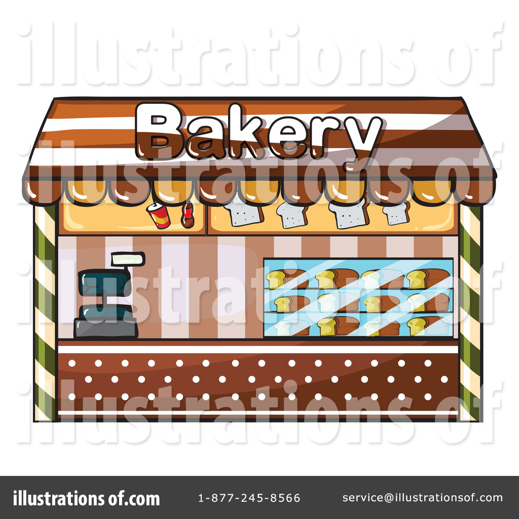 Baker clipart cartoon. Bakery illustration by graphics