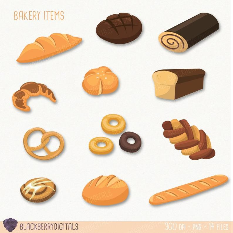 Bakery clipart baked goods. Cliparts clip art images