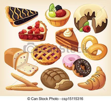 Cartoon clip art iron. Bakery clipart bakery food