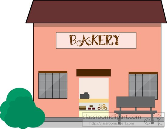 Suggest shelves clip art. Bakery clipart bakery shop
