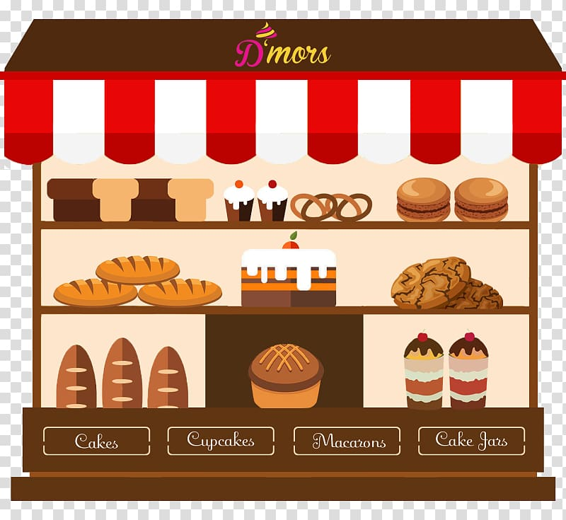 Bakery clipart bakery shop. Coffee cakery store transparent