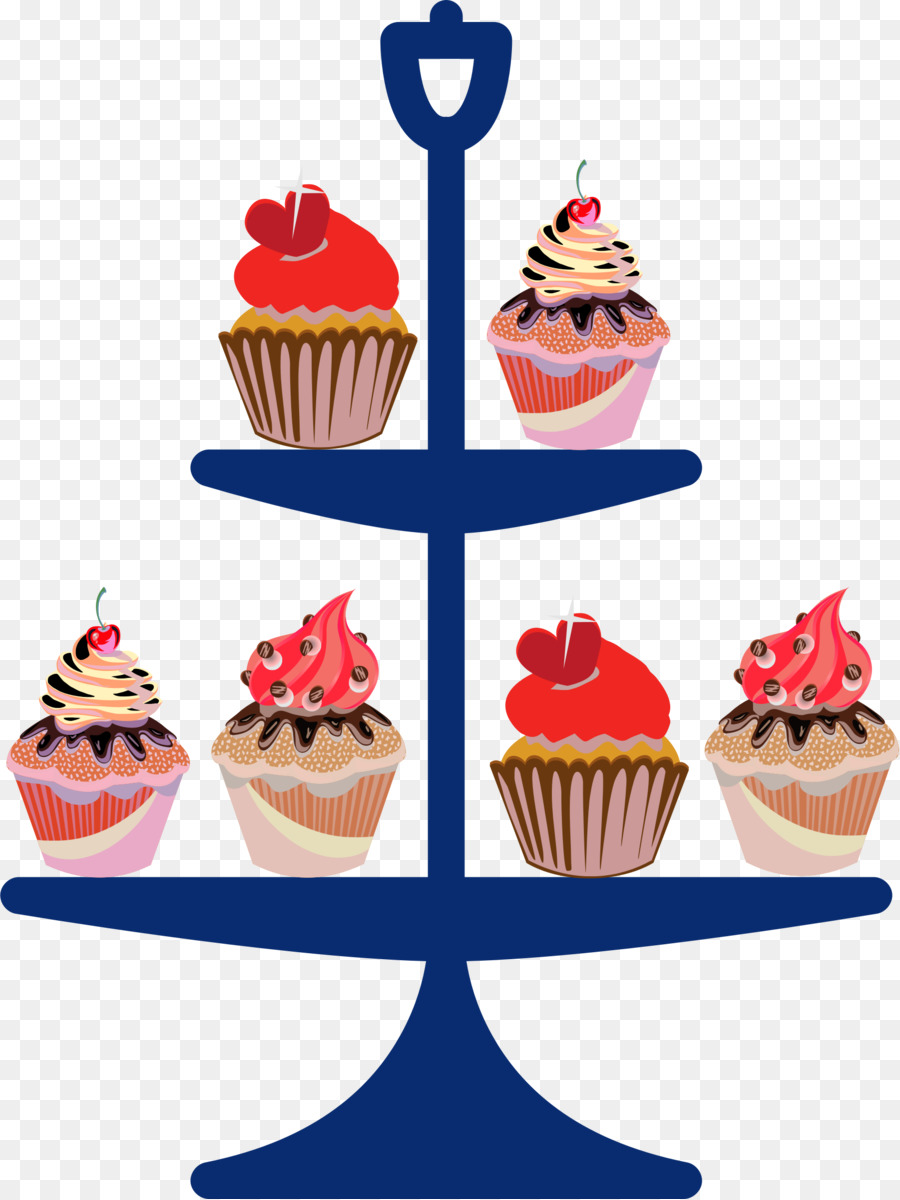 Party hat cartoon cupcake. Bakery clipart bakery stall