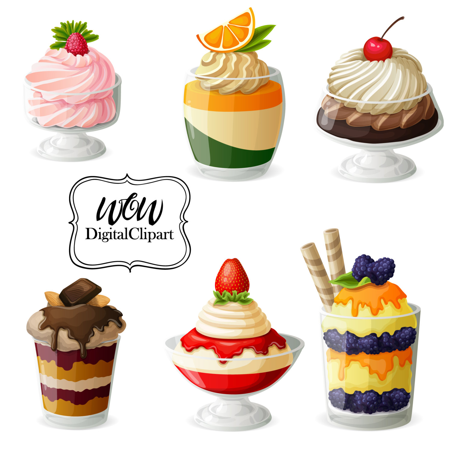 Bakery clipart bakery stall. Dessert pinart sale watercolor