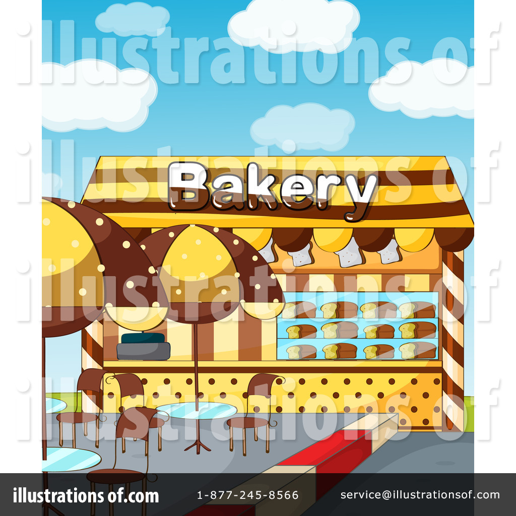 Bakery clipart bakery storefront. Illustration by graphics rf