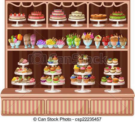 . Bakery clipart bakery window