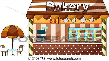 Bakery clipart bakeshop. Station