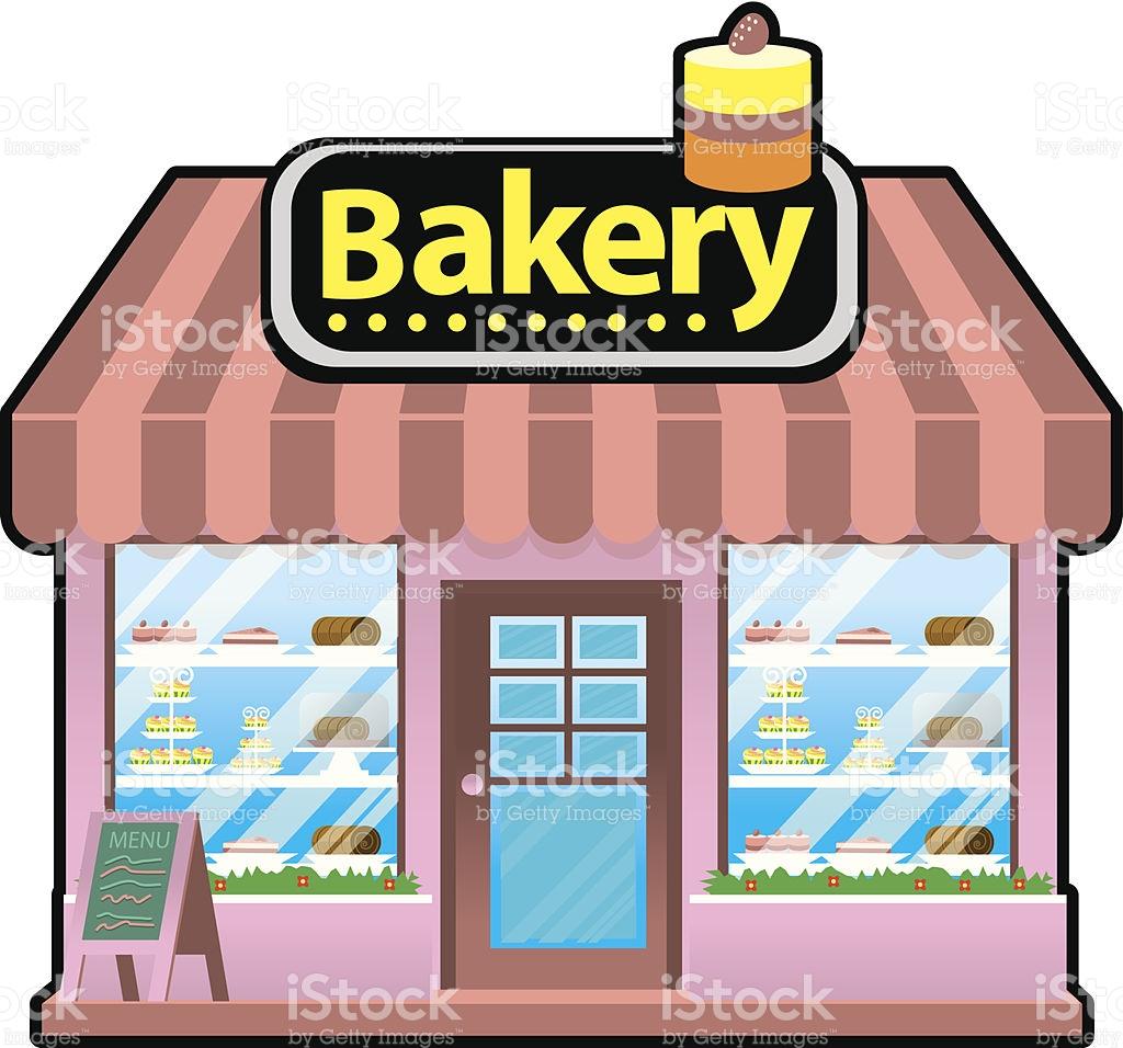 Bakery clipart bakeshop. Bake shop clipartxtras