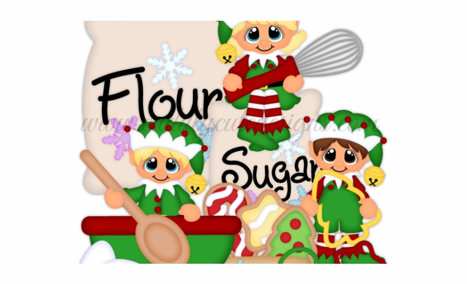 Elf christmas free png. Bakery clipart baking