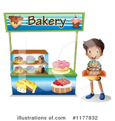 Illustration by graphics rf. Bakery clipart bread shop