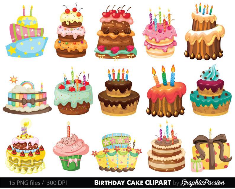 Bakery clipart cake shop. Birthday illustration digital images