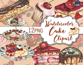 Cupcake dessert party clip. Bakery clipart cereal