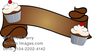 Image of a design. Bakery clipart clip art