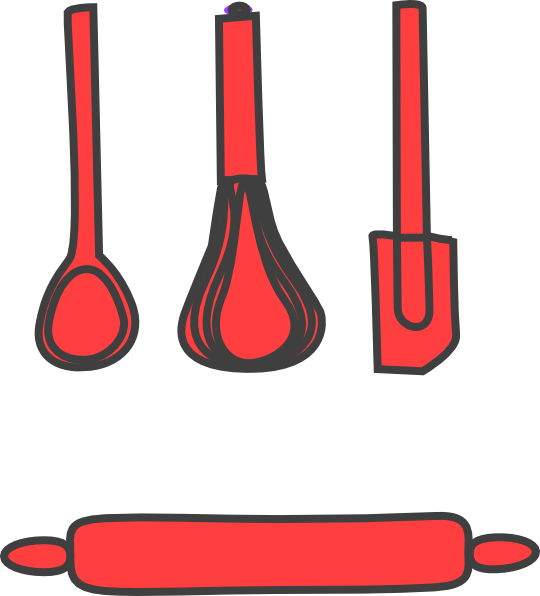 Bakery clipart clip art. Red at clker com