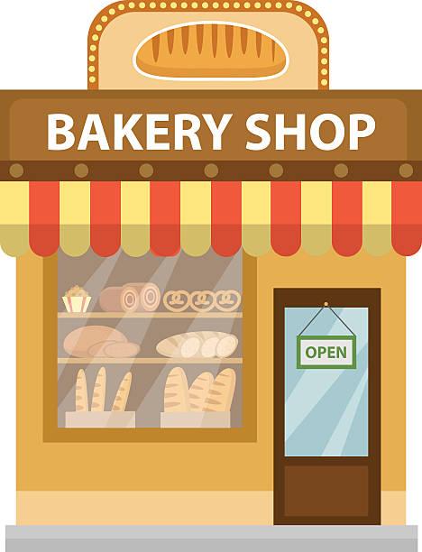 Bakery clipart customer. Station