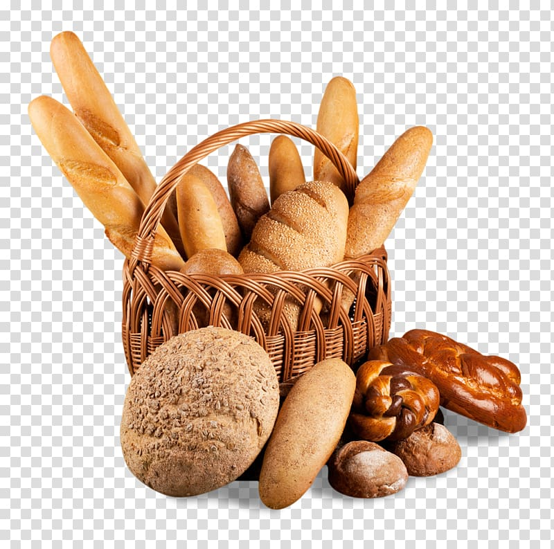 Assorted varieties of baked. Bakery clipart customer