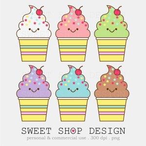 Bakery clipart cute. Ice cream clip art