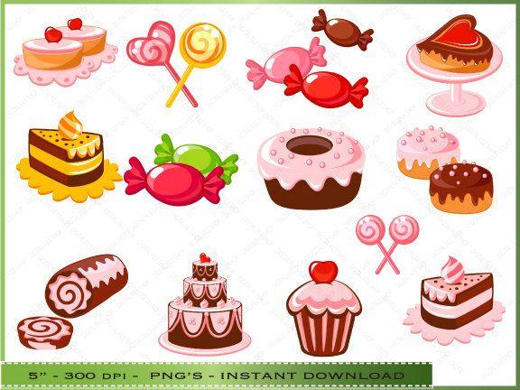 Desserts clipart. Dessert clip art bakery