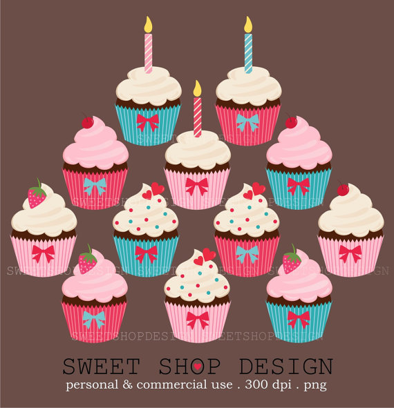 Cupcakes clip art food. Bakery clipart front