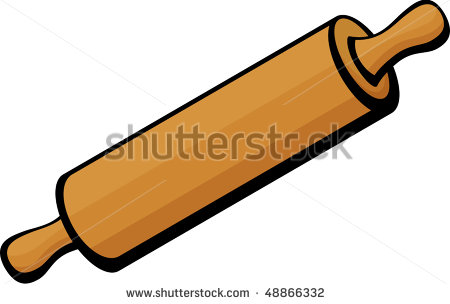 Bakery clipart rolling pin. Drawing at getdrawings com