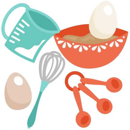 Bakery clipart spoon. Baking set svg cutting