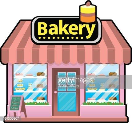 Shop premium clipartlogo com. Bakery clipart store