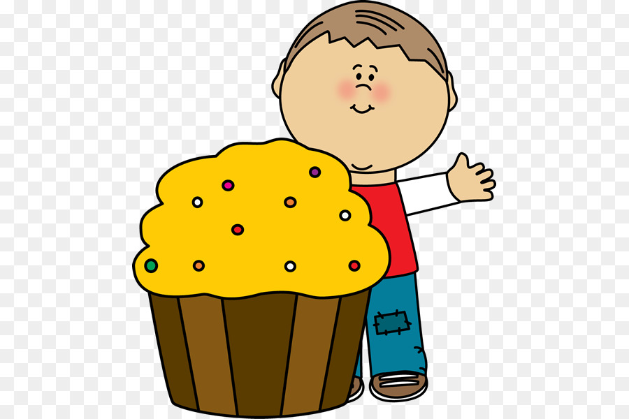 Cupcake muffin birthday cake. Bakery clipart transparent