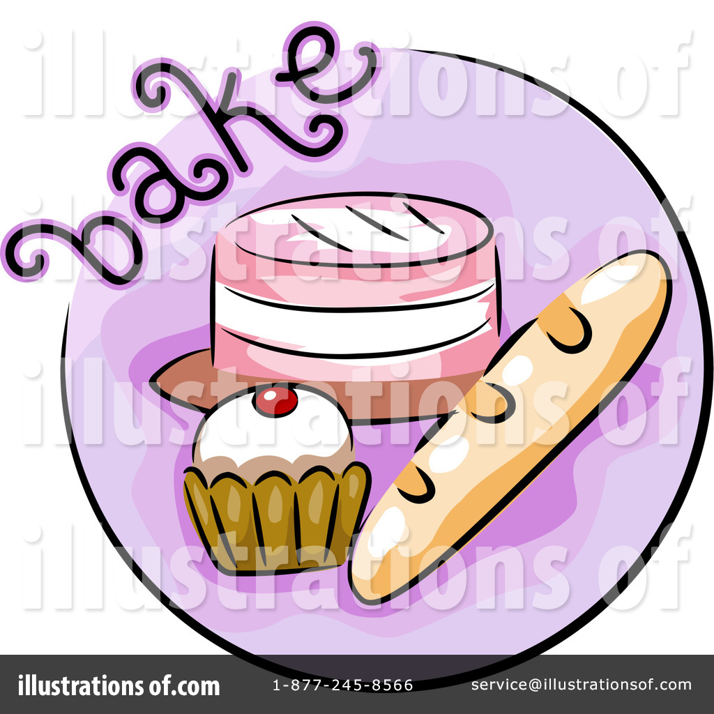 Baking clipart. Illustration by bnp design