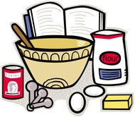 Baking clipart. Panda free images cooking