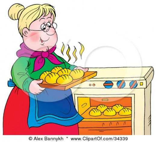 collection of in. Baking clipart bake oven