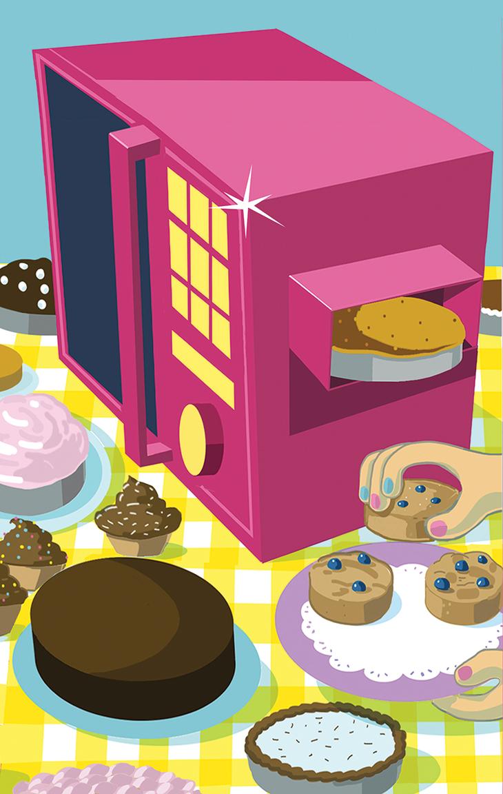 Baking clipart bake oven. Hello cupcake cincinnati magazine