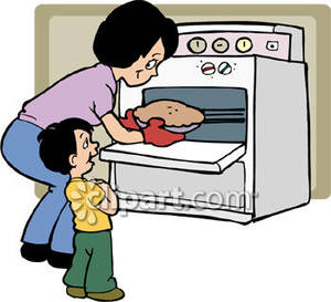 . Baking clipart bake oven