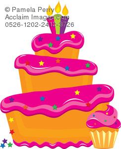 Baking clipart baked goods. Clip art illustration of