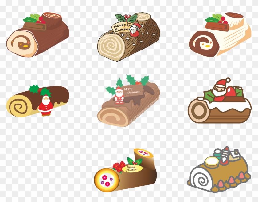 Png japanese christmas cake. Baking clipart baked goods