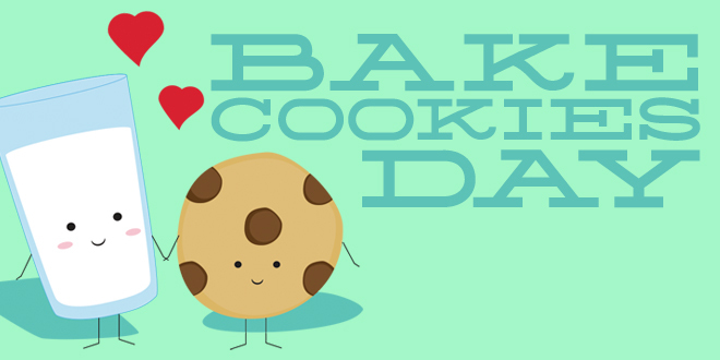 Bake cookies day shout. Baking clipart baking cookie