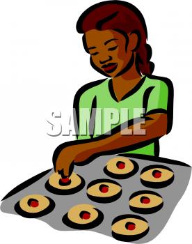 Baking clipart baking cookie. Cookies clip art panda