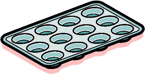Panda free images . Baking clipart baking pan